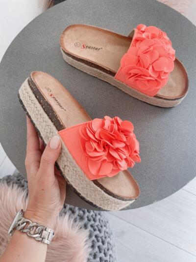 Sandali Natikači CK119 pink