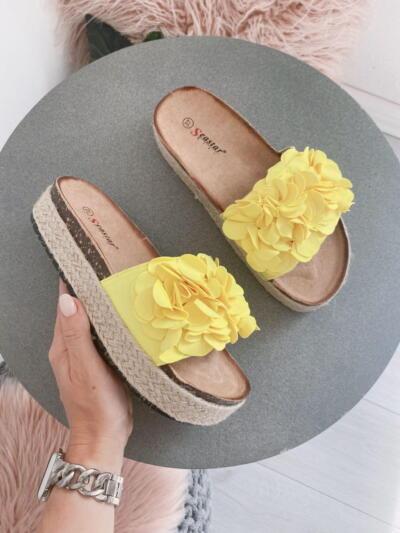 Sandali Natikači CK119 yellow