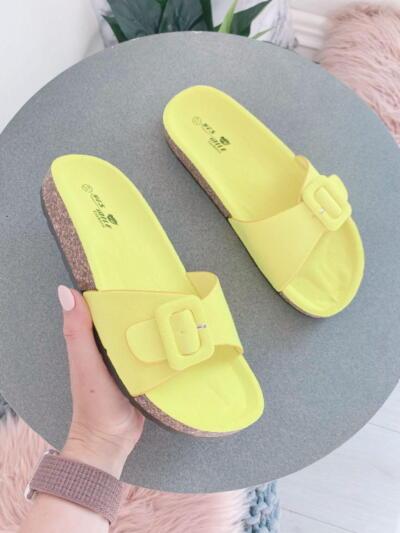 Sandali Natikači SS-72 Yellow