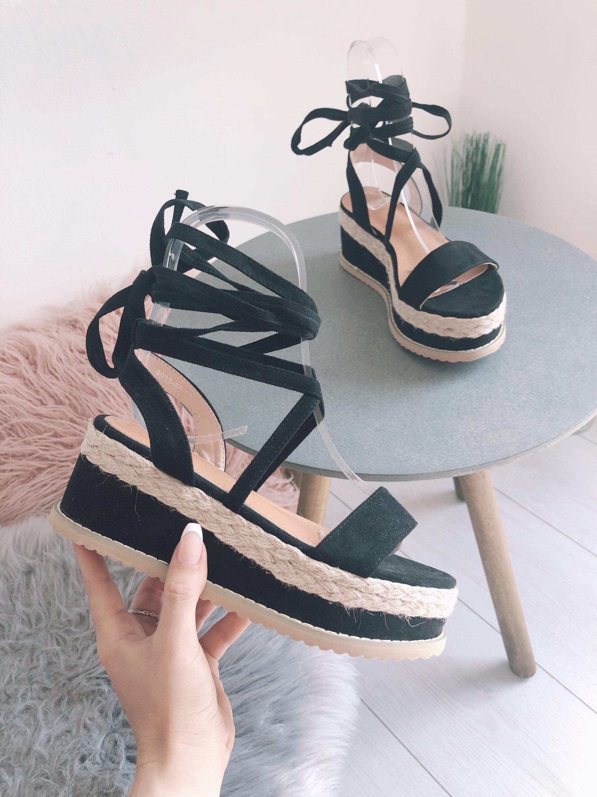 Sandali 9003-80 BLACK