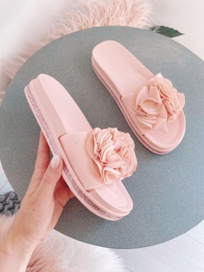 Sandali Natikači C3001 pink