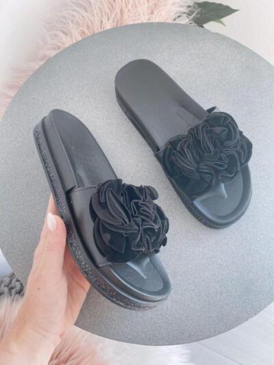 Sandali Natikači C3001 black