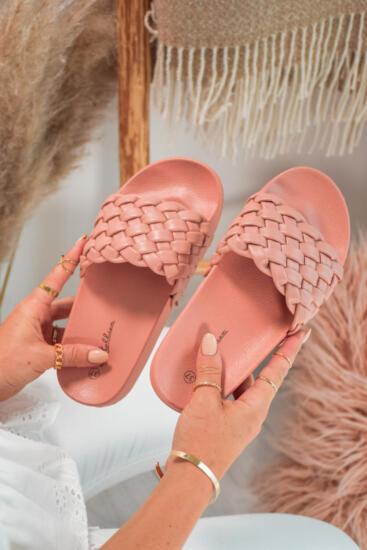 Sandali in Natikači Natikači MS9003 Pink